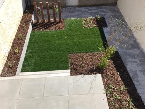 Vernieuwen binnentuin